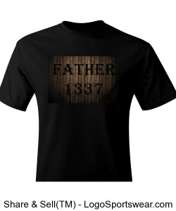 Father 1337 Fathers Day T-Shirt Design Zoom